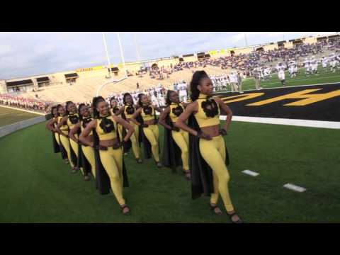 ASU Marching In - 2015 Southern vs Alabama State