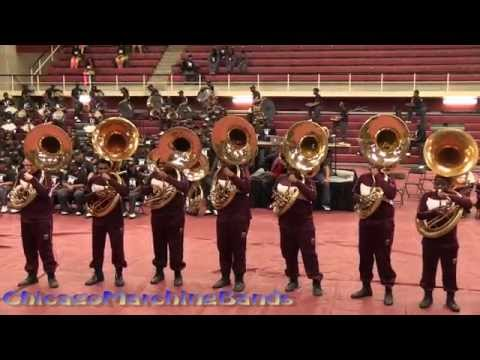 Band Brawl Central State vs Miles College part 3 - Sousaphones