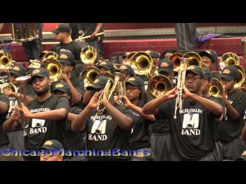Band Brawl Central State vs Miles College part 4