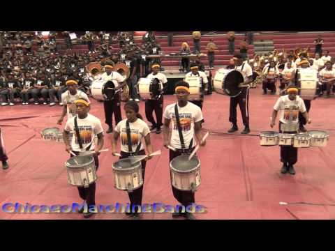 Band Brawl Central State vs Miles College part 2 - Drumlines