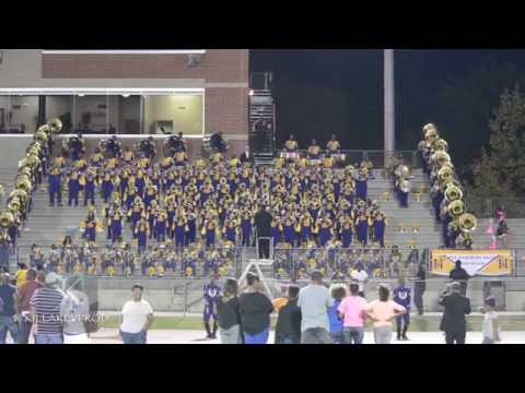 Miles College Marching Band - In The Air Tonight - 2015