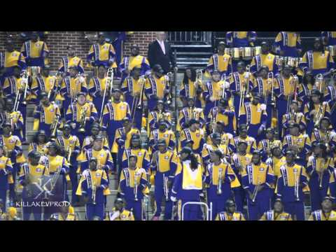 Miles College Marching Band - Turn Me On - 2015