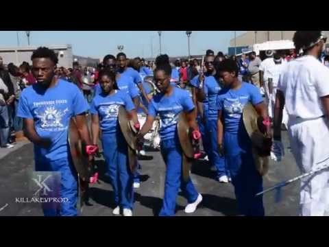 Tennessee State University - Groove Me/Marching In @ 2015 HC Pep Rally