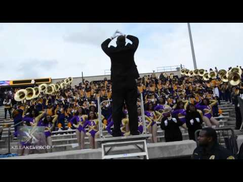 Miles College Cranks on Alabama State during Pre-Game Show - 2015