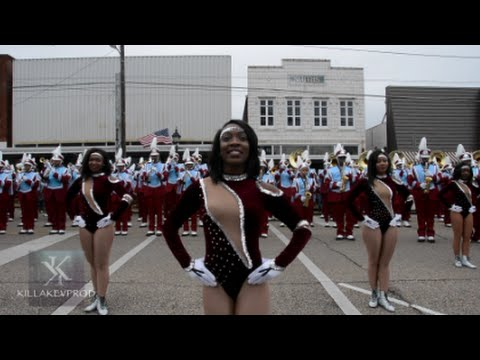 Talladega College Marching Band - Obama Day Showcase - 2015