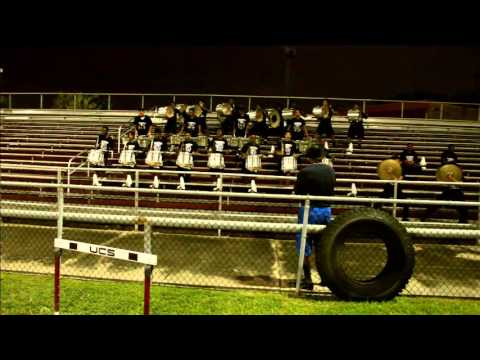 """Texas Southern Univ."""" Funk Train""""  Percussion Section 2015"""