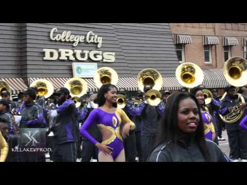 Miles College Marching Band - Obama Day Showcase - 2015