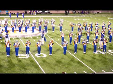 """Albany State University's """"Marching RAMS Show Band"""" 2015 SIAC Championship"""
