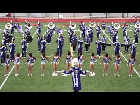 Minor High School at the Birmingham Marching Band Festival 2015