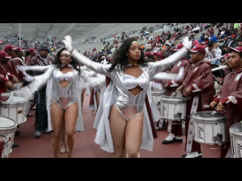 Alabama A&M University - Marching In @ the 2015 Magic City Classic