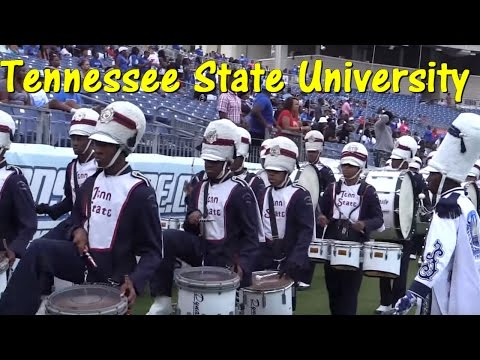 Tennessee State Band 2015 - Stadium Entrance