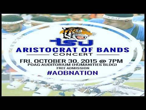 The 2015 Tennessee State University AoB Concert (FULL EVENT)