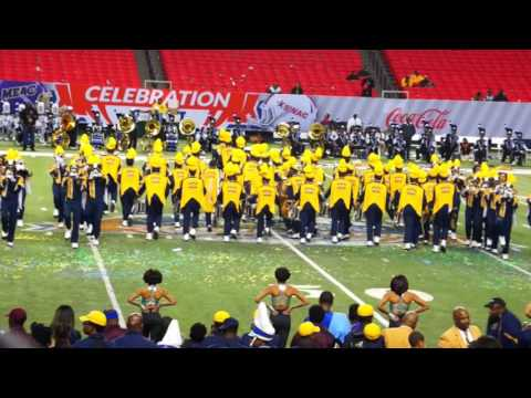 2015- Blue & Gold Marching Machine @ Inaugural Celebration Bowl