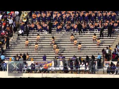 Alcorn State University Marching Band - Post Halftime Crank - 2015
