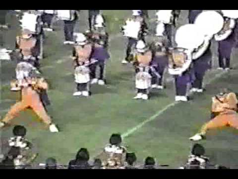 Alcorn State Dance Routine vs VSU 1998