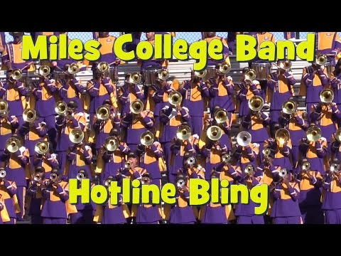 Miles College Band 2015 - Hotline Bling