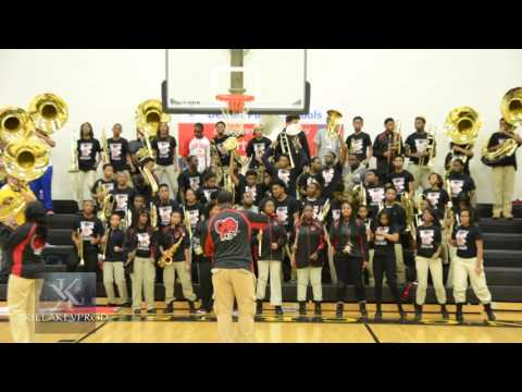 Oak Park High School Marching Band - Better Believe It - 2015