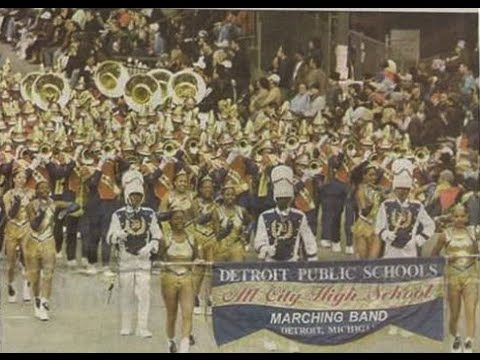 Detroit Public School's All City High School Marching Band - Rose Bowl Parade - 2002