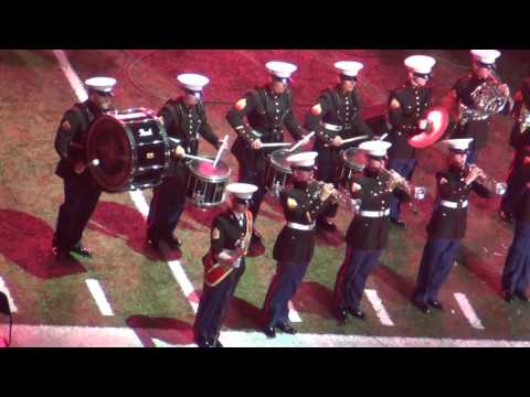 Marine MARCHING Band at 2015 Bayou Classic Battle Of The Bands part 2