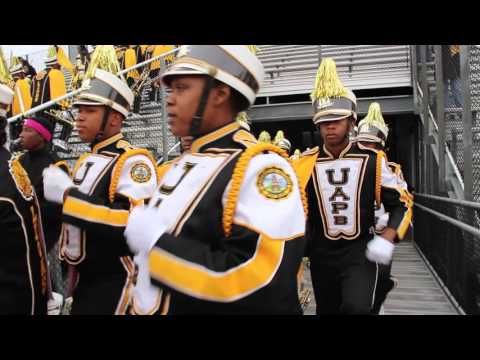 UAPB M4 - Marching into PVAMU Game (2015)