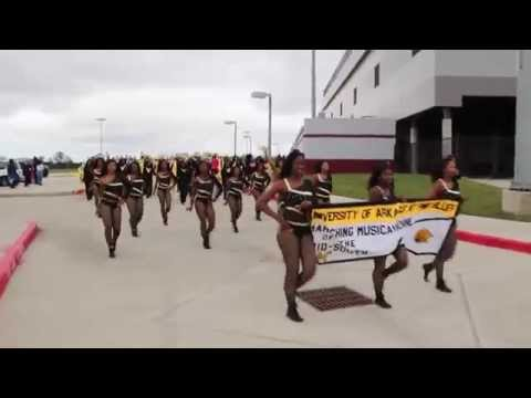 UAPB M4 - Marching out of PVAMU Game (2015)