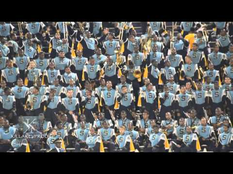 Southern University Marching Band - Nobody Does It Better Mashup - 2015