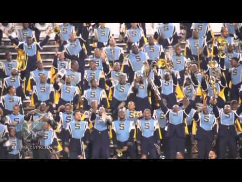 Southern University Marching Band - Not F**kin Wit Me Mashup - 2014