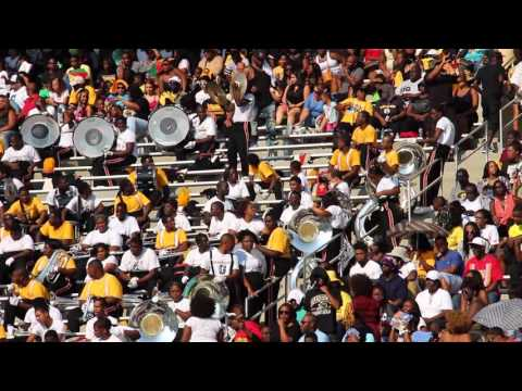 PVAMU UNTouchables vs. GSU Kold Steel - Cymbal Battle (2015)