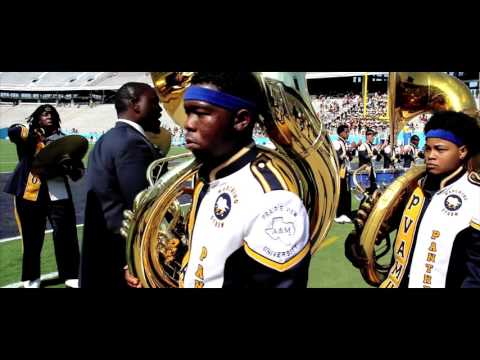 Prairie View A&M Marching Storm - State Fair Classic Entrance (2015)