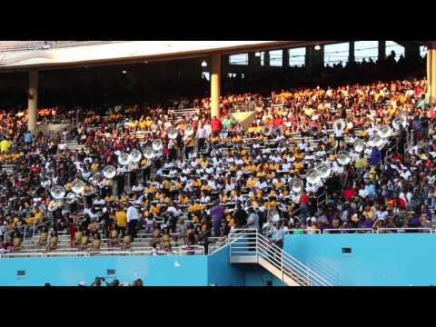 PVAMU 14K vs. GSU Silver Dogs - Tuba Battle (2015)
