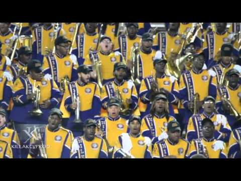 Miles College Marching Band - California Mashup - 2015