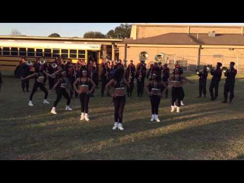 "Donaldsonville High School Marching Band - ""Party Don't Stop"" 2016"