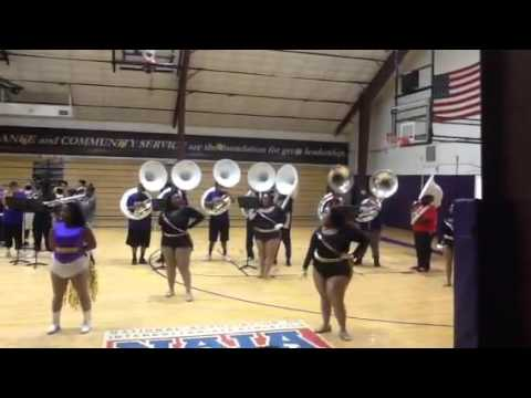 Texas College High School Band Day 2016