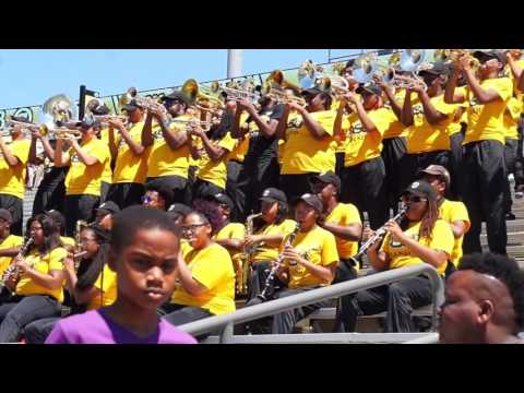2016 Black & Gold Game - Mighty Marching Hornets featuring the Stingettes