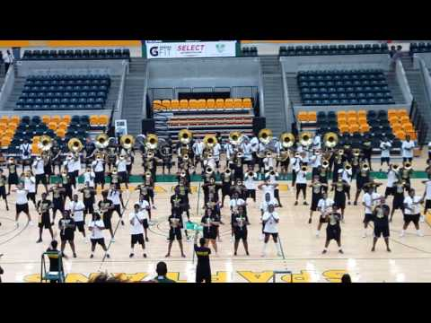 NSU Spartan Legion Marching Band 2016 Family and Friends Day.