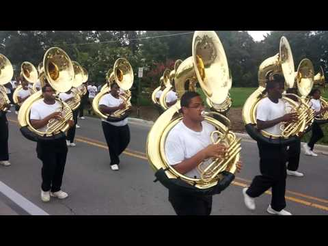 UAPB M4 2016-17 Marching Back To Band Hall