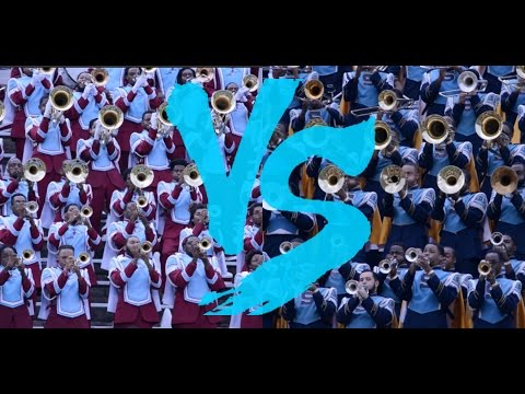 Talladega College vs Southern University Marching Band - QCBOTB - 2016