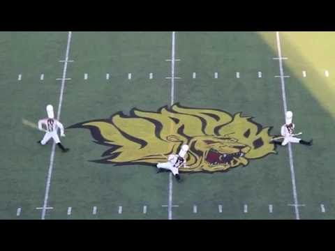 Halftime - UAPB Marching Band (2016) vs. Jackson State