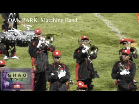 OAK PARK High Marching Band @ SHAW BOTB