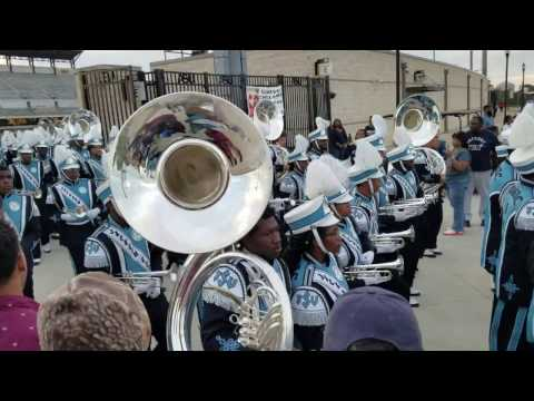 Jackson State Marching Out vs. ASU 2016