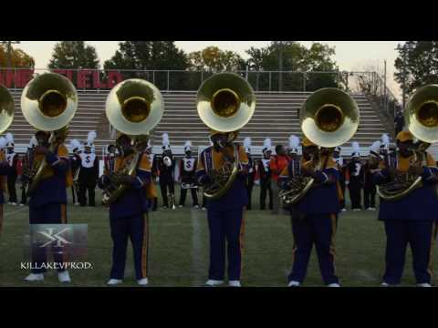 Miles College vs Lane College - Sousaphone Battle (Field) - 2016