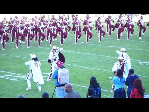 Marching Maroon & White Field Show against Jackson St.