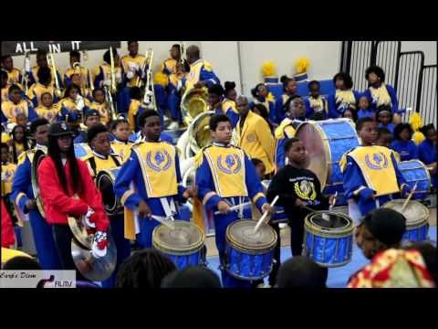 Drum Sections Battle @ Fall Middle School BOTB (2016)