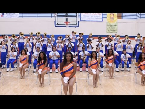 Hunters Lane High School Marching Band - Sucker For Your Love - 2016