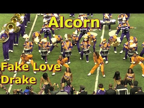Alcorn State University Band 2017 - Fake Love by Drake