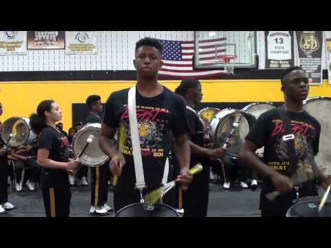 Whitehaven High vs Pine Bluff High | Percussion Battle 2016