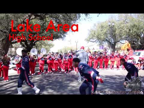 Lake Area High vs Plaquemine High | Krewe of Tucks | 2017