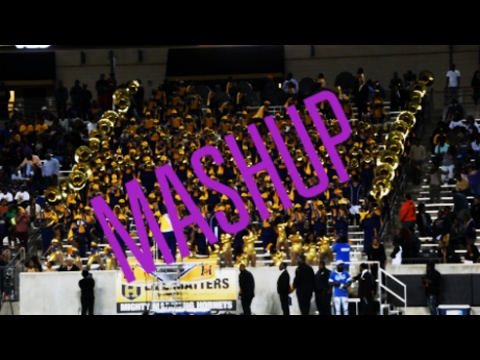Miles College Marching Band - Close To You Mashup - 2016