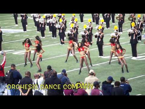 "Celebration Bowl 2016:  ""Eclipse"" Dancers (NCCU) vs. Orchesis Dance Company (Grambling)"
