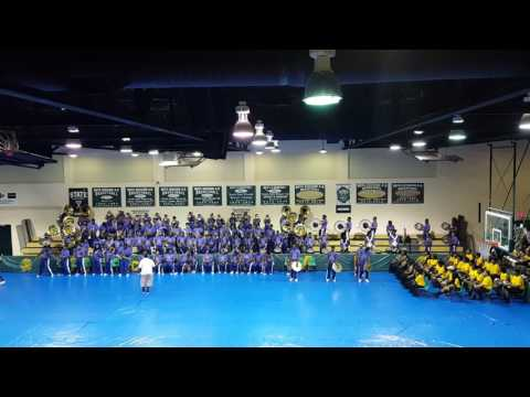 """Alcorn State University """"Mask Off"""" - 2nd Annual Band Gymbouree in Mccomb pt1"""